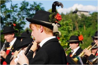 2018.06.16 Zapfenstreich zum Bataillons Schützenfest in Innsbruck