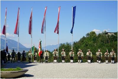 2018.06.16 Zapfenstreich zum Batallions Schützenfest in Innsbruck_8