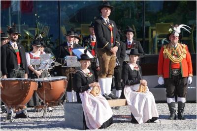 2018.06.16 Zapfenstreich zum Batallions Schützenfest in Innsbruck_9